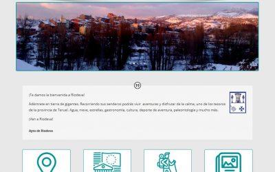 Nueva web institucional www.riodeva.es