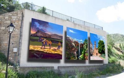 ¿Conoces el mural de Riodeva?